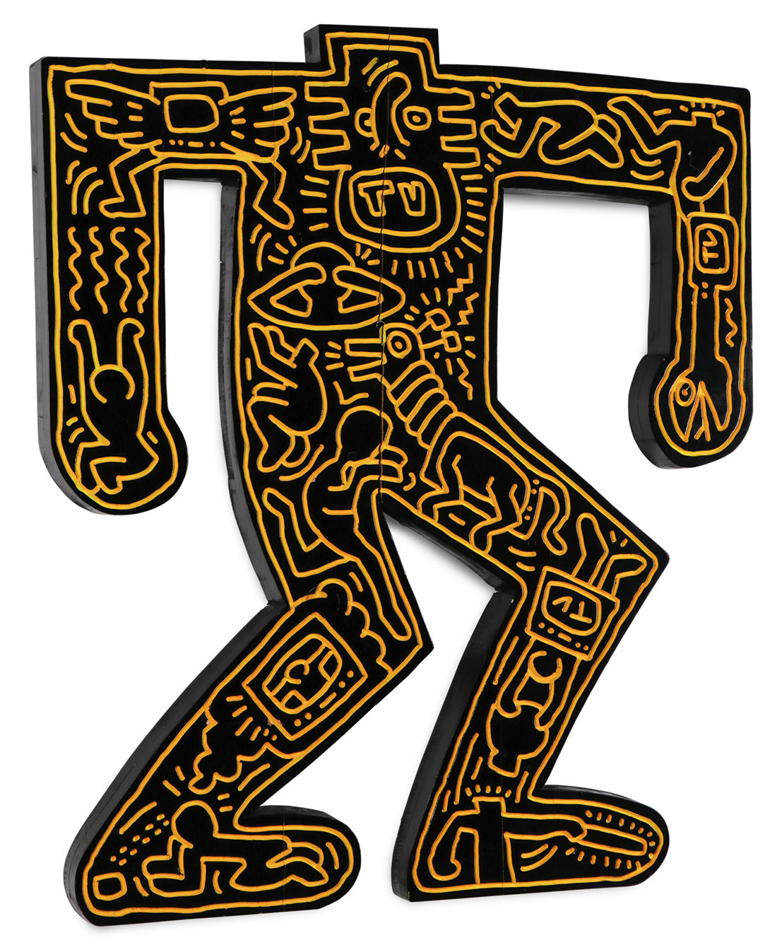 Keith Haring sculpture sold
