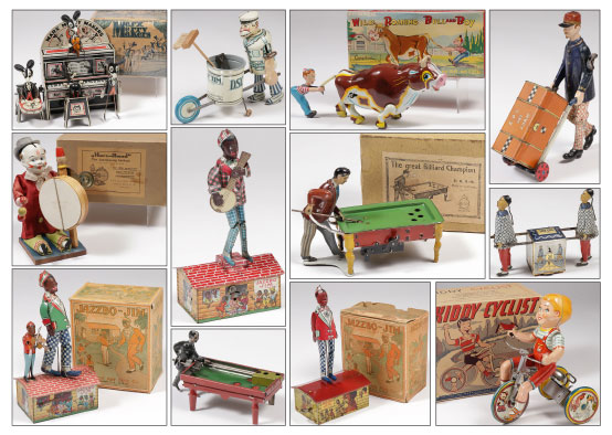 Toy and collectibles auction