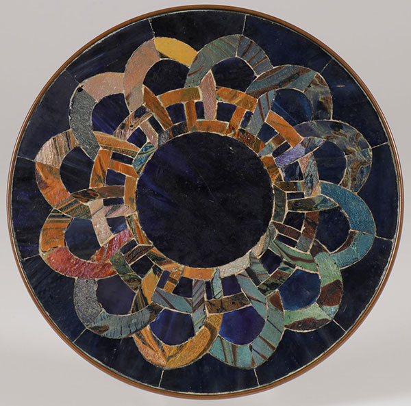 Tiffany Favrile trivet